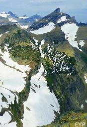 Swiftcurrent Mountan, Granite Park Chalet, Glacier National Park