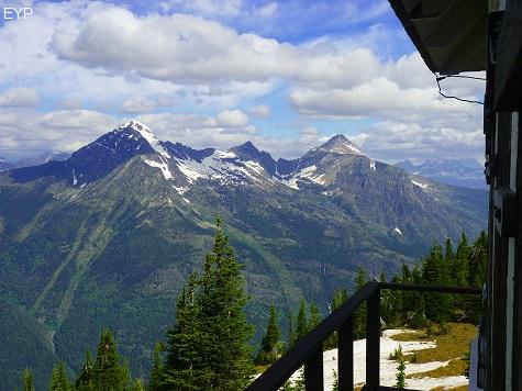 Mount Brown Lookout, Lake McDonald Area, Glacier National Park
