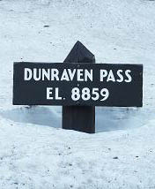 Dunraven Pass, Yellowstone National Park