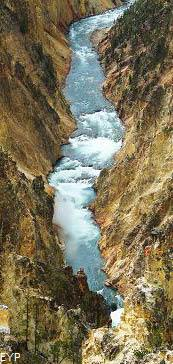 Yellowstone River, Grand Canyon of the Yellowstone, Yellowstone National Park