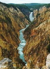 Grand Canyon of the Yellowstone, Yellowtone Park