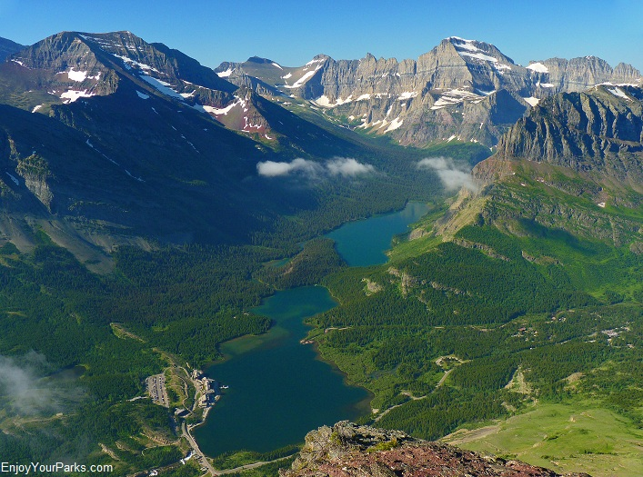 Altyn Peak summit view, Glacier National Park