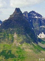 Vigil Peak, Two Medicine Pass, Glacier National Park