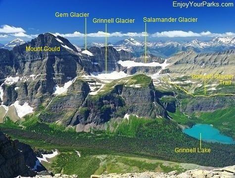 Grinnell Glacier Area, Glacier National Park