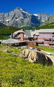 Many Glacier Hotel, Many Glacier Area, Glacier National Park