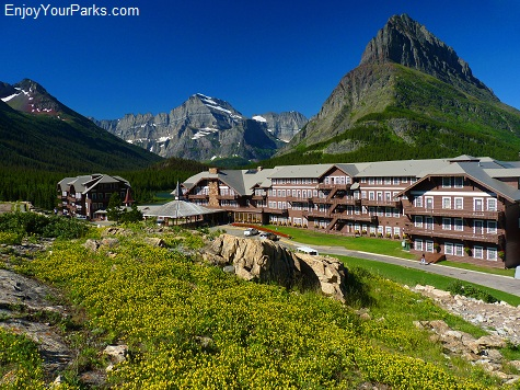 Many Glacier Hotel, Glacier National Park