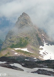 Little Matterhorn, Sperry Glacier Trail, Glacier National Park