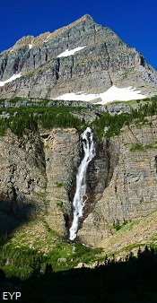 Mount Kipp, Raven Quiver Falls, Stoney Indian Pass Trail, Glacier National Park