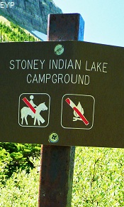 Stoney Indian Lake Campground, Stoney Indian Pass Trail, Glacier National Park