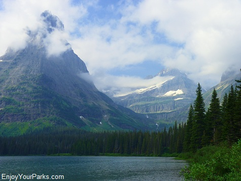 Glenns Lake, Stoney Indian Pass Trail, Glacier National Park