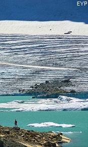 Grinnell Glacier, Many Glacier Boat Tour, Glacier National Park