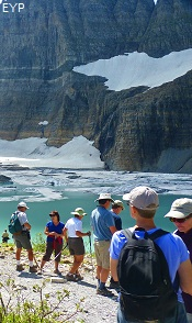Grinnell Glacier Trail, Many Glacier Boat Tour, Glacier National Park