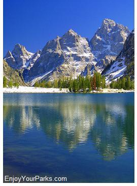 Lake Solitude, Paintbrush Canyon - Cascade Canyon Loop Trail, Grand Teton National Park