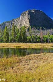 Mount Haynes in the Madison Canyon, Madison Junction Area, Yellowstone National Park