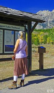 Taggart Lake Trailhead, Grand Teton National Park