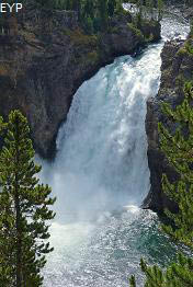 Upper Falls, Grand Canyon of the Yellowstone, Yellowstone National Park