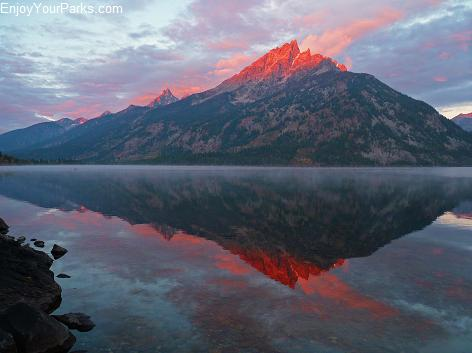 Jenny Lake Overlook, Jenny Lake, Grand Teton National Park