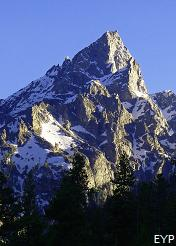 Teewinot Mountain, String Lake Area, Grand Teton National Park