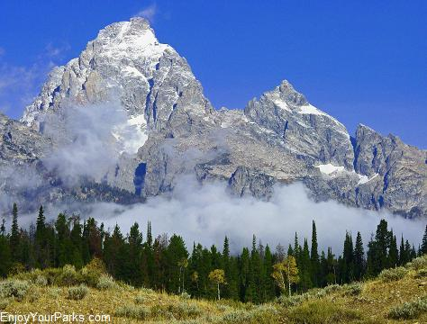 Grand Teton, Moose - Wilson Road, Moose Junction, Grand Teton National Park
