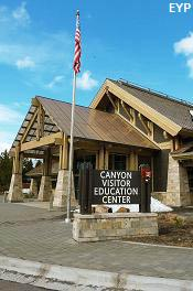 Canyon Visitor Center, Grand Canyon of the Yellowstone, Yellowstone National Park