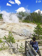 Steamboat Geyser, Norris Geyser Basin, Norris Junction Area, Yellowstone National Park