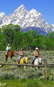 Horseback Ride, Grand Teton National Park