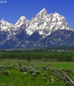 Highway 89 Overlooks & Turnouts, Grand Teton National Park