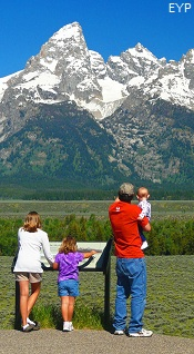 Glacier View Turnout, Highway 89 Turnouts and Overlooks, Grand Teton National Park