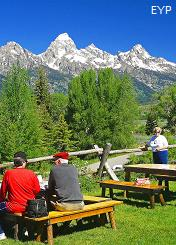 Dornans Chuckwagon, Grand Teton National Park